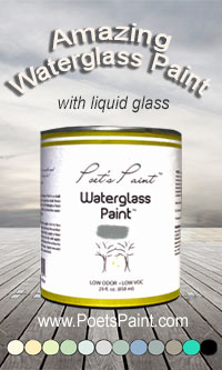 Poets Paint Waterglass Paint
