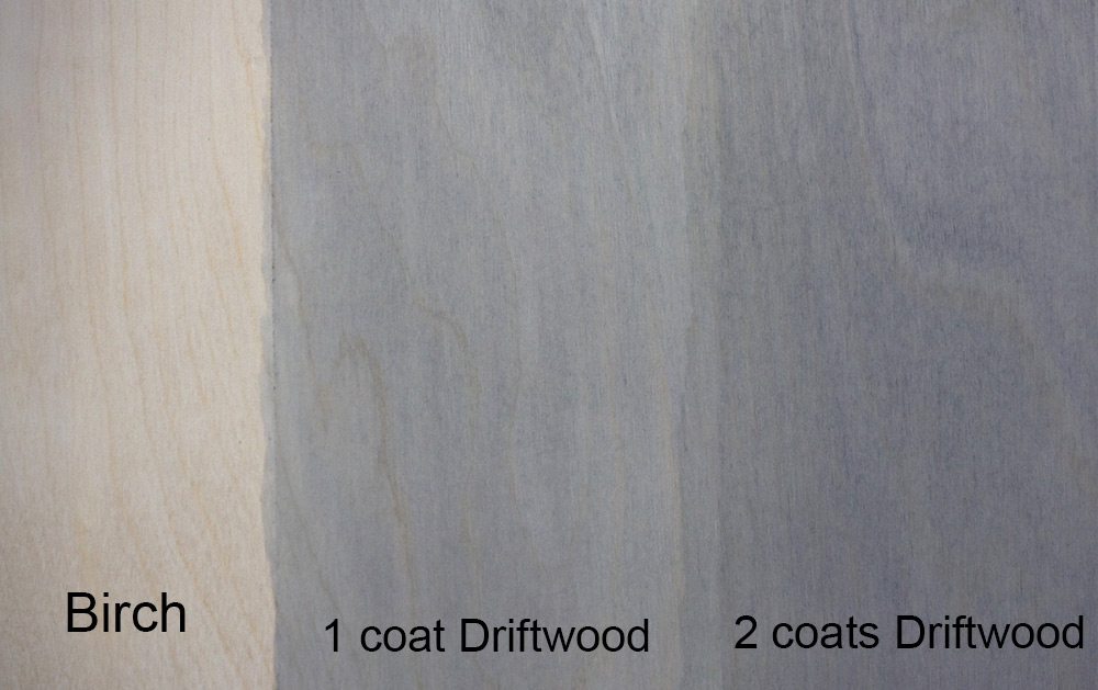 Driftwood weathering wood finish single pak for an easy for Can you stain driftwood